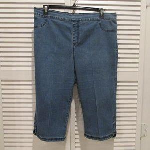 Catherines capri jeans